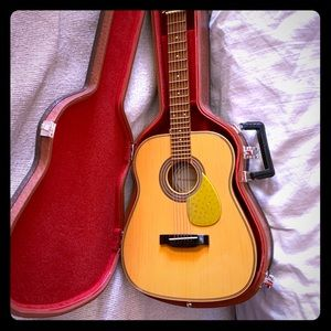 American Girl Guitar with Case. Like new.